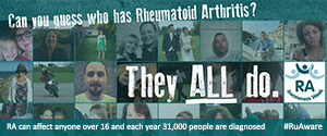 The National Rheumatoid Arthritis Society is the UK 's only patient lead organisation focussing specifically on rheumatoid arthritis and Juvenile arthritis.