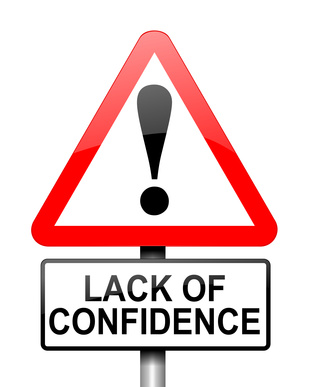 LACK OF CONFIDENCE Quotes Like Success