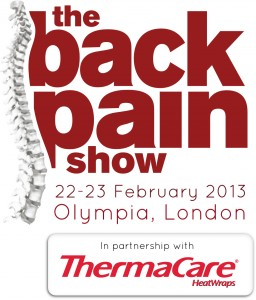 Back Pain Show, Olympia, London - 2013