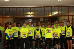 Charity Fleet Half Marathon Team
