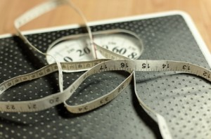 Losing weight, calorie counting and getting fit and healthy
