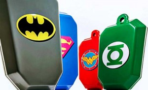 Justice League chemotherapy bags