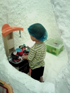 Trying a salt cave for eczema