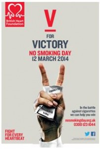 National No Smoking Day on 12 March 2014