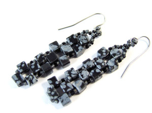 Snow Obsidian Jewellery