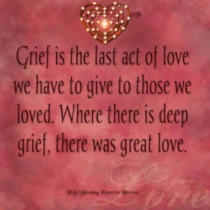 Words for the grieving