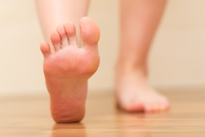 People living with diabetes are at higher risk for health issues affecting their feet