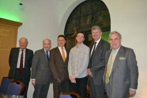 Some of the speakers at March's Treloar Talks event