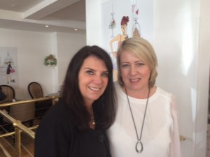 Dr Dawn Harper from health show Embarrassing Bodies with Deborah from talkhealth