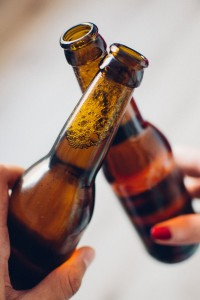 gf beer bottles cheers