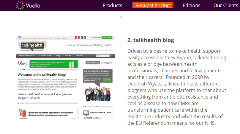 talkhealth blog award