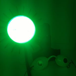 Rosy JulieBC - LED Green light therapy for rosacea