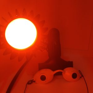 Rosy JulieBC - LED Red and Amber light therapy for rosacea (Dual Care)