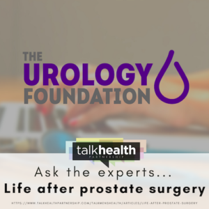 life after prostate surgery clinic